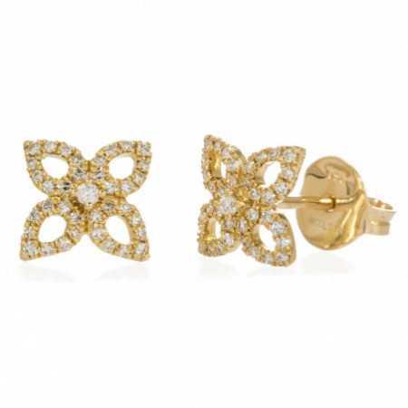 Gold Star earrings Picos LITTLE DETAILS