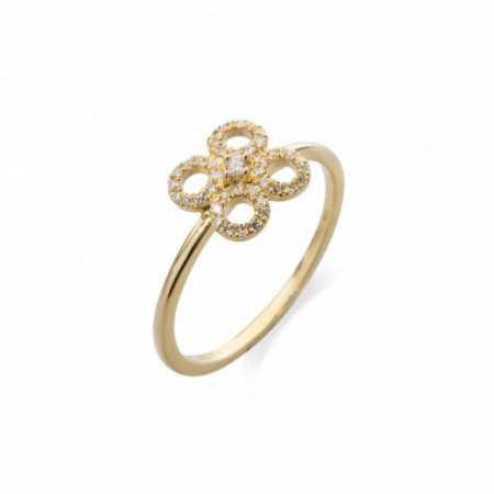 Flower Ring Round LITTLE DETAILS