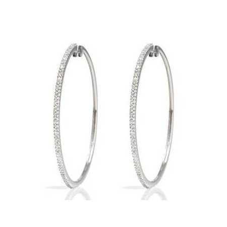 Gold hoop earrings HOOP