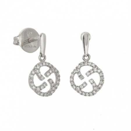 Gold Templar Seal Earrings LITTLE DETAILS